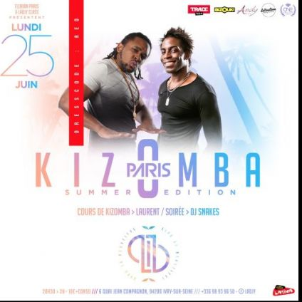 After Work  Kizomba Summer Edition - Lib Paris  Lundi 25 juin 2018