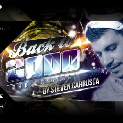 Soirée clubbing Back to 2000 by Steven Carrusca  Mardi 14 aout 2018