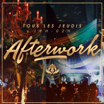 After Work L'AFTER WORK INCONTOURNABLE DU PALAIS MAILLOT (OPEN BULLES et BUFFET) Jeudi 25 octobre 2018