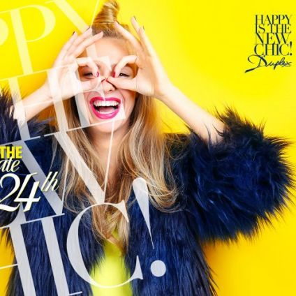 Soirée clubbing HAPPY IS THE NEW CHIC Lundi 24 septembre 2018