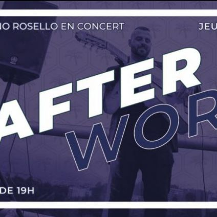 After Work SEBASTIANO ROSELLO  Jeudi 13 septembre 2018