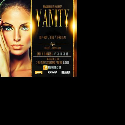 Soirée clubbing Vanity - Welcome to Paris Vendredi 05 octobre 2018