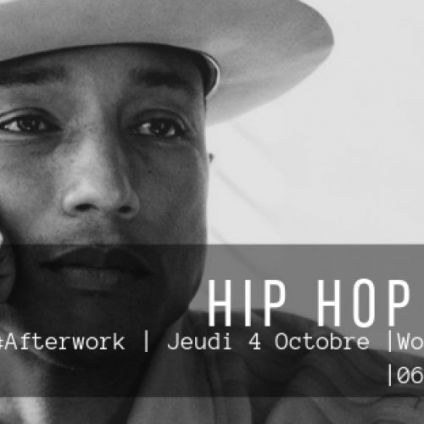 After Work HIP HOP DATE Jeudi 04 octobre 2018