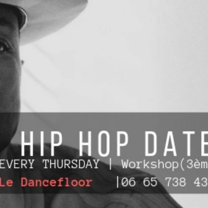 After Work HIP HOP DATE Jeudi 11 octobre 2018