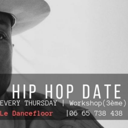After Work HIP HOP DATE Jeudi 18 octobre 2018