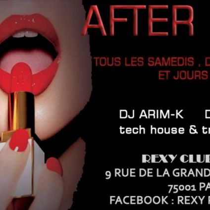 After (6H-Midi) after party Samedi 15 decembre 2018