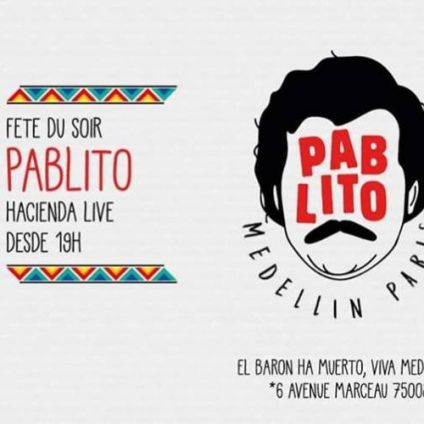 After Work Pablito - Live al Medellín Jeudi 29 Novembre 2018