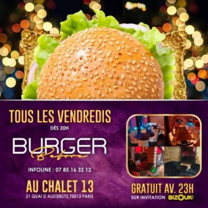 After Work Burgers Before !  Vendredi 07 decembre 2018