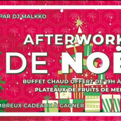 After Work Afterwork de NOËL Jeudi 06 decembre 2018