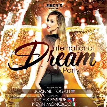 Soirée clubbing International Dream party NYE Lundi 31 decembre 2018