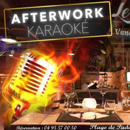 Before  AFTERWORK KARAOKE Vendredi 21 decembre 2018