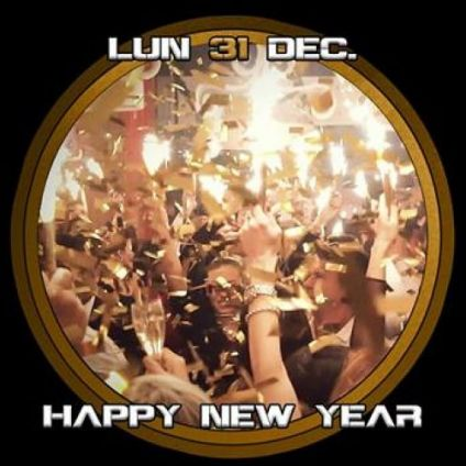 Soirée clubbing Happy New Year Lundi 31 decembre 2018