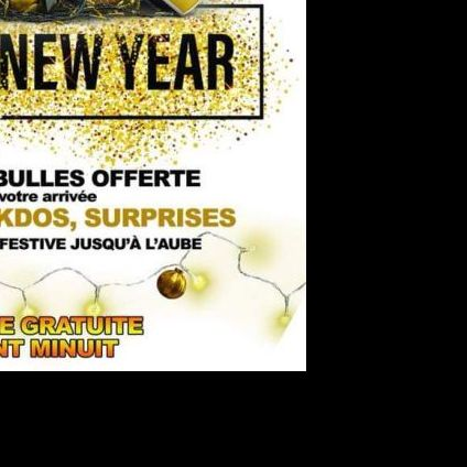 Soirée clubbing ???? HAPPY NEW YEAR 2019 ???? Lundi 31 decembre 2018