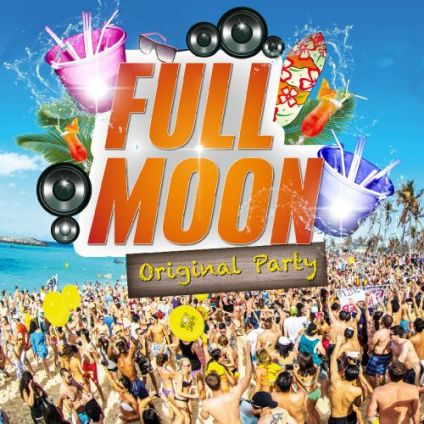 Soirée clubbing FULL MOON 'Bucket Party' : GRATUIT Mardi 30 avril 2019