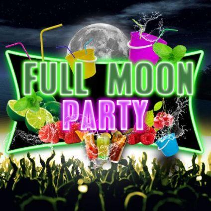Soirée clubbing FULL MOON 'Bucket Party' : GRATUIT Vendredi 27 septembre 2019