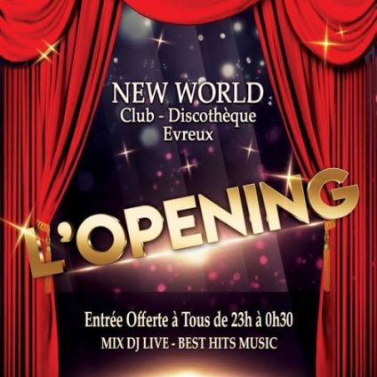 After Work L'OPENING Jeudi 25 avril 2019