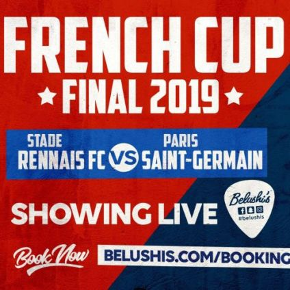 Autre French CUP Final at Belushi's Canal Samedi 27 avril 2019