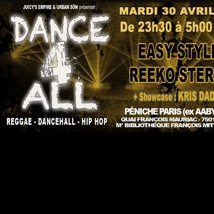 Soirée clubbing juicy's empire present Dancehall 4 All Mardi 30 avril 2019