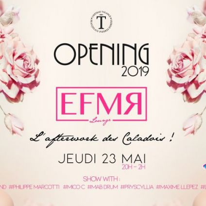 After Work EFMR Lounge - Opening saison 2019 Jeudi 23 mai 2019