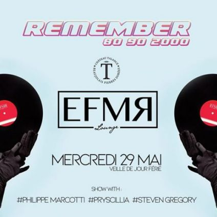After Work EFMR Lounge - Remember ! Mercredi 29 mai 2019