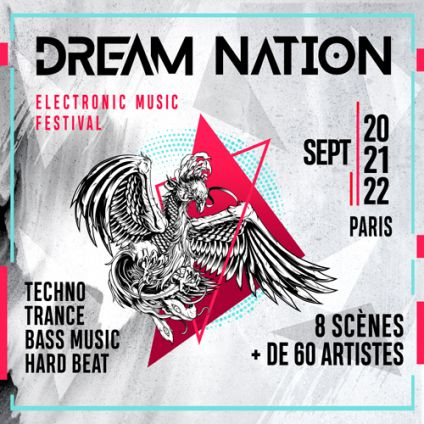 Festival 21 Sept 19 - DREAM NATION FESTIVAL - MAIN EVENT – PARIS Samedi 21 septembre 2019
