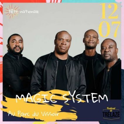 Concert Concert - Magic System Vendredi 12 juillet 2019