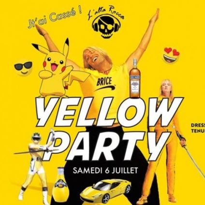 Before Yellow Theme Party · Organisé par L' ALTA ROCCA Bar Samedi 06 juillet 2019