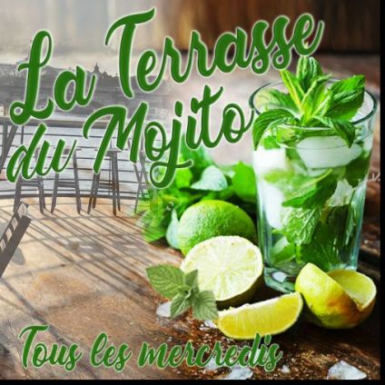 After Work LA TERRASSE DU MOJITO (GRATUIT, DOUBLE TERRASSE GEANTE ROOFTOP VUE PANORAMIQUE à 360,BARBECUE GEANT) Mercredi 28 aout 2019