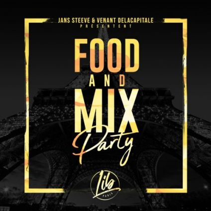 Soirée clubbing Food and mix party  Vendredi 13 septembre 2019