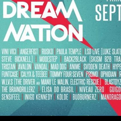 Festival Festival Dreamnation Vendredi 20 septembre 2019