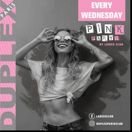 Soirée clubbing PINK PARTY by Ladies Club Mercredi 30 octobre 2019