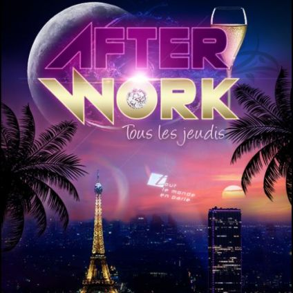 After Work AFTER WORK JEUDI SUR LES TOITS DE PARIS (ROOFTOP / TAPAS / MOJITOS) Jeudi 24 octobre 2019