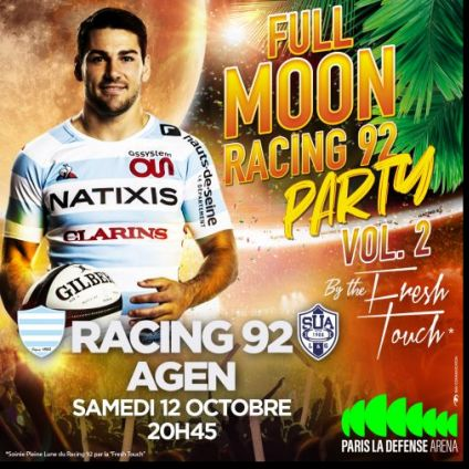 Autre Full Moon Racing 92 party  Samedi 12 octobre 2019
