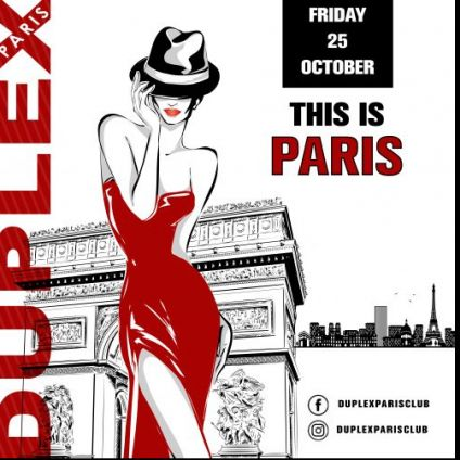 Soirée clubbing THIS IS PARIS Vendredi 25 octobre 2019