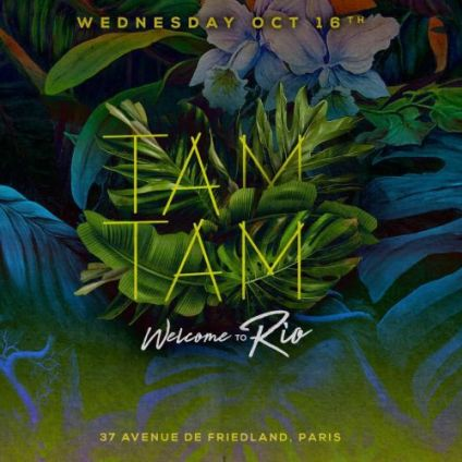 Soirée clubbing Wednesday October 16th x TAM TAM Mercredi 16 octobre 2019