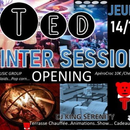After Work Winter session de Ted Opening Jeudi 14 Novembre 2019