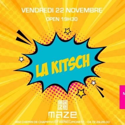 After Work La Kitsch du Maze Vendredi 22 Novembre 2019