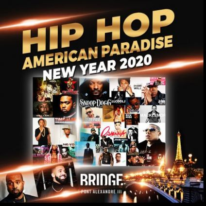Soirée clubbing LE PLUS GRAND NOUVEL AN HIP HOP DE FRANCE - L'EVENEMENT DE L'ANNEE ! UN REVEILLON EXCEPTIONNEL ! Mardi 31 decembre 2019