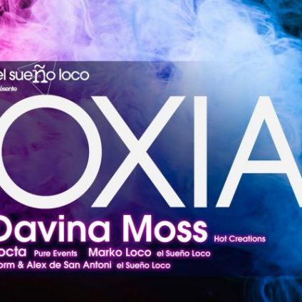 Soirée clubbing El Sueño Loco invite Oxia, Davina Moss at The Box Vendredi 06 decembre 2019