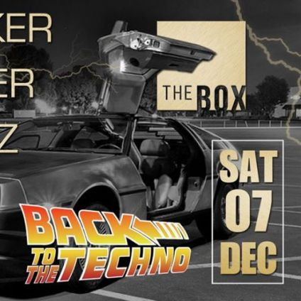 Soirée clubbing ★ Back To The Techno ★ Retro 1990-2005 ★ The Box Lille ★ Samedi 07 decembre 2019