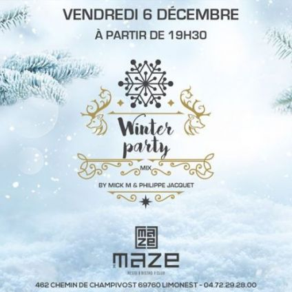 After Work Winter Party du MAZE Vendredi 06 decembre 2019