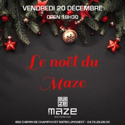 After Work Le NOEL du MAZE Vendredi 20 decembre 2019