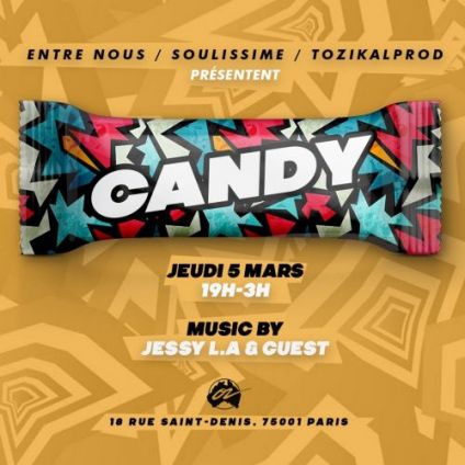 After Work CANDY Jeudi 30 avril 2020