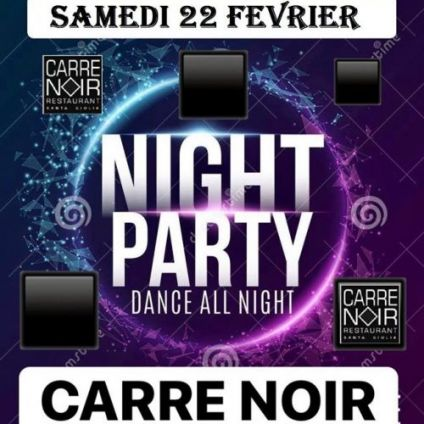 Soirée clubbing Night party by Dj K-Net @ Carré Noir Vendredi 03 avril 2020