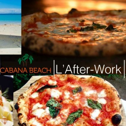 After Work L'afterwork du Cabana : Tapas, Pizza, Happy-Hour Mardi 23 juin 2020
