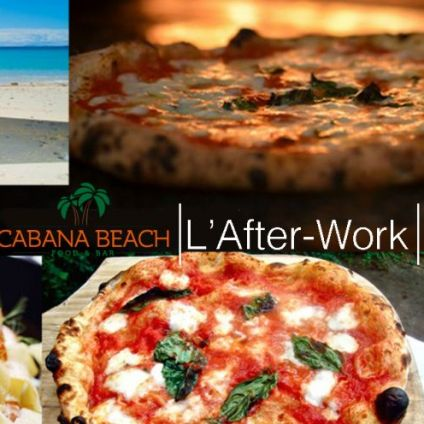 After Work L'afterwork du Cabana : Tapas, Pizza, Happy-Hour Mercredi 09 decembre 2020