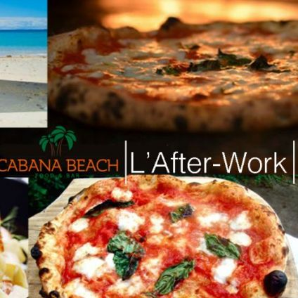 After Work L'afterwork du Cabana : Tapas, Pizza, Happy-Hour Vendredi 11 decembre 2020