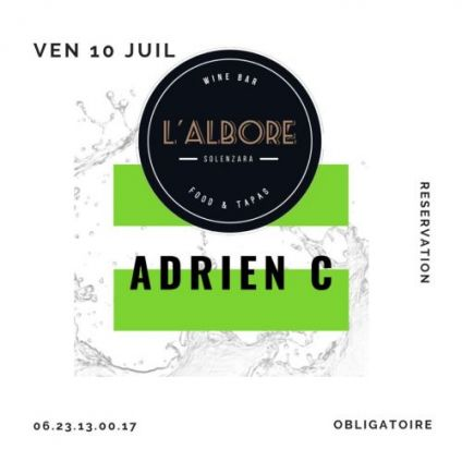 Before ADRIEN-C DJ SET L'Albore Solenzara Vendredi 10 juillet 2020