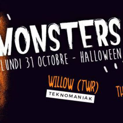 Before Monsters by The Unlikely Boy & Willowtwr Lundi 31 octobre 2016