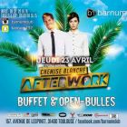 After Work Afterwork Chemise Blanche Jeudi 23 avril 2015